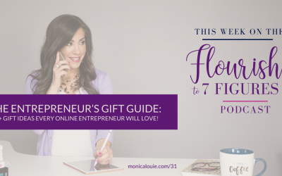 The Entrepreneur's Gift Guide: 50+ Gift Ideas Every Online Entrepreneur Will Love!