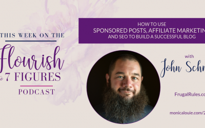 How to Use Sponsored Posts, Affiliate Marketing, and SEO to Build a Successful Blog with John Schmoll of FrugalRules.com