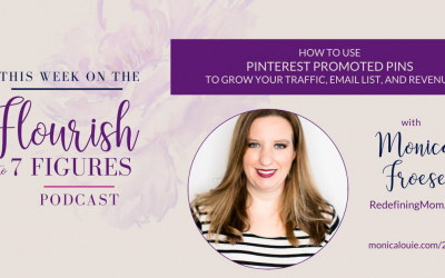 How to Use Pinterest Promoted Pins to Grow Your Traffic, Email List, and Revenue with Monica Froese of RedefiningMom.com