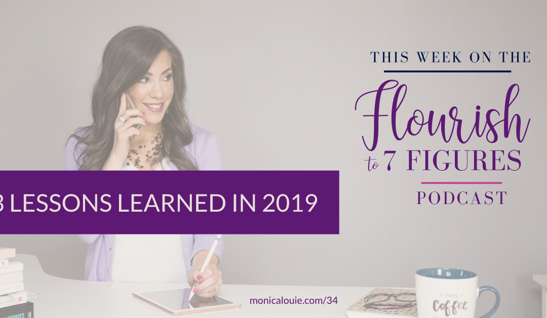 3 Lessons Learned in 2019