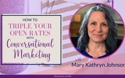How to Triple Your Open Rates with Conversational Marketing with Mary Kathryn Johnson