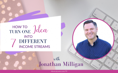 How to Turn One Idea into 7 Different Income Streams with Jonathan Milligan