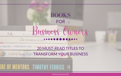 Books for Business Owners: 20 Must-Read Titles to Transform Your Business
