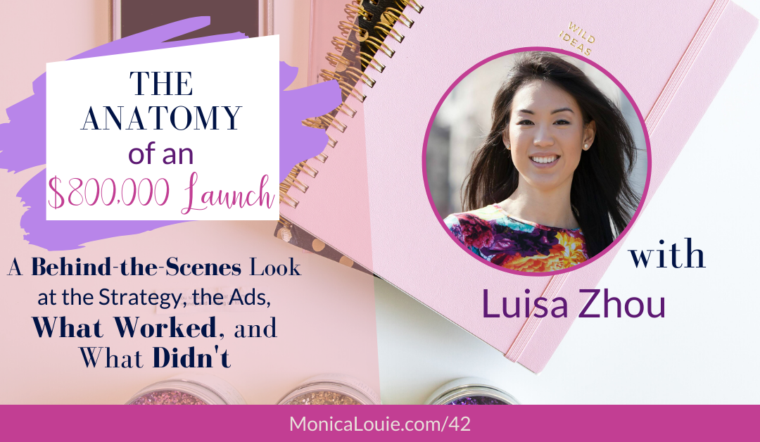 The Anatomy of an $800,000 Launch: A Behind-the-Scenes Look at the Strategy, the Ads, What Worked, and What Didn't with Luisa Zhou