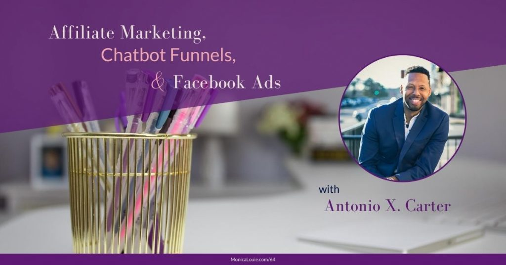 desk with pens, antonio carter, affiliate marketing