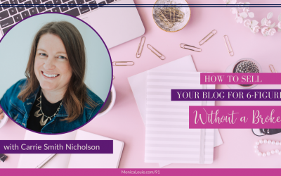 How to Sell Your Blog for 6-Figures Without a Broker with Carrie Smith Nicholson
