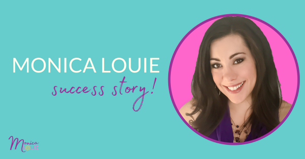 monica louie success story - FB